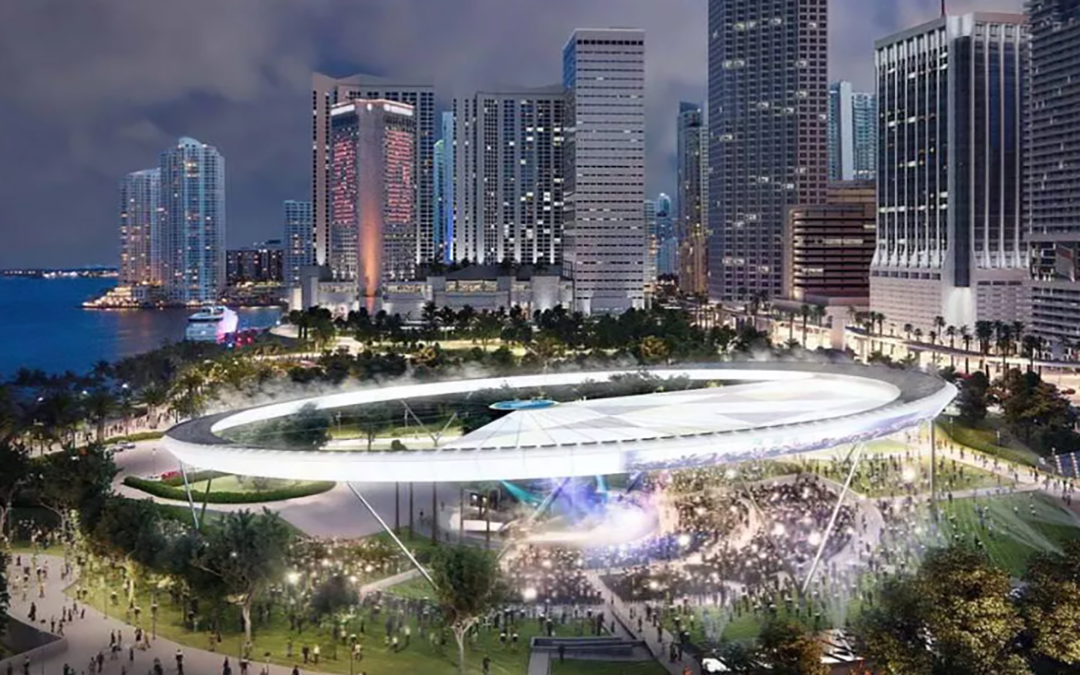 City vote clears path for retractable 'solar halo' atop Bayfront Amphitheater