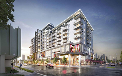 This new apartment building is moving in. Wynwood Yard and O Cinema are moving out