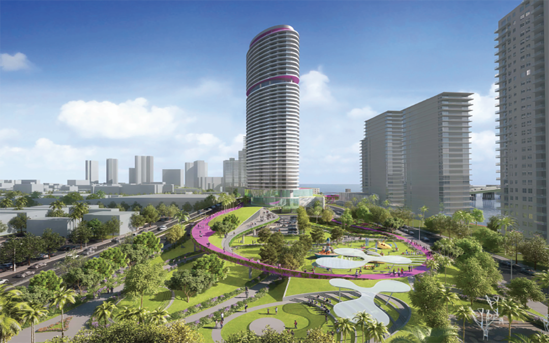 Video Of 3 Acre Park Coming To Alton Road After Commissioners Vote To Approve Deal