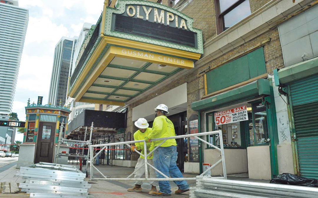 Historic Olympia Theater in for a facelift
