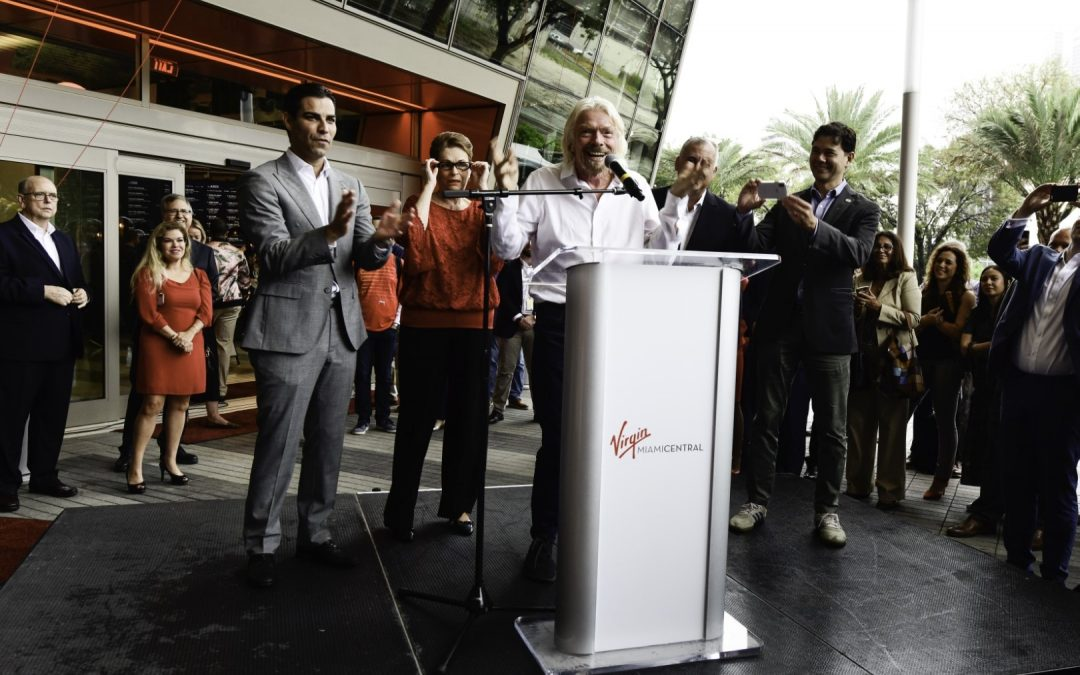 VIRGIN TRAINS (BRIGHTLINE) SECURES FUNDING IT NEEDED FOR MIAMI-ORLANDO HIGH SPEED RAIL CONSTRUCTION AFTER INVESTORS 'WOWED'