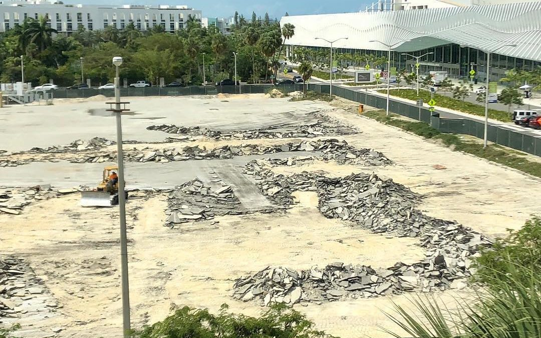 NEW PARK NOW UNDER CONSTRUCTION IN SOUTH BEACH, WILL INCLUDE 500 TREES