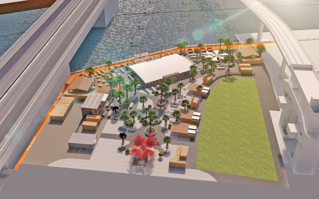 RIVERSIDE OPENING IN BRICKELL SUMMER 2019 WITH 120,000 SQUARE FEET OF DINING, INCLUDING BEER GARDEN