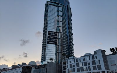 PHOTOS: ROOF LEVEL AT 60-STORY PARAMOUNT MIAMI WORLDCENTER