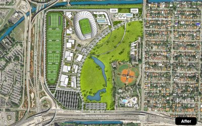 BECKHAM GROUP REVEALS NEW PARK RENDERINGS, SUBMITS LEASE TO CITY