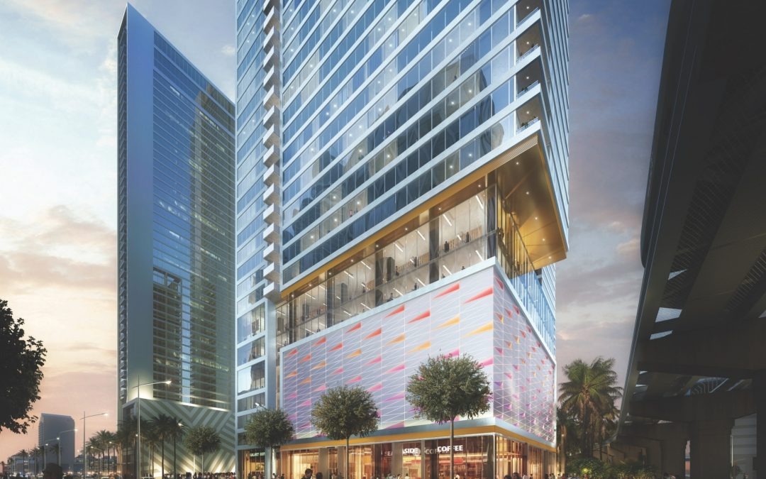 39-STORY KENECT TOWER APPROVED IN DOWNTOWN MIAMI, WILL HAVE MORE PARKING FOR BIKES THAN CARS
