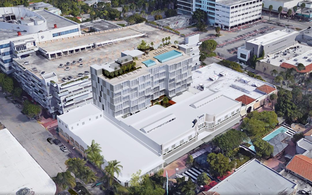 LINCOLN ROAD'S BOOKS AND BOOKS BUILDING IS PROPOSED TO GET HOTEL ADDITION WITH 144 ROOMS