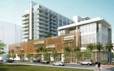 'ART DECO' APARTMENT BUILDING WITH GROUND FLOOR TARGET STORE PROPOSED IN NORTH BEACH