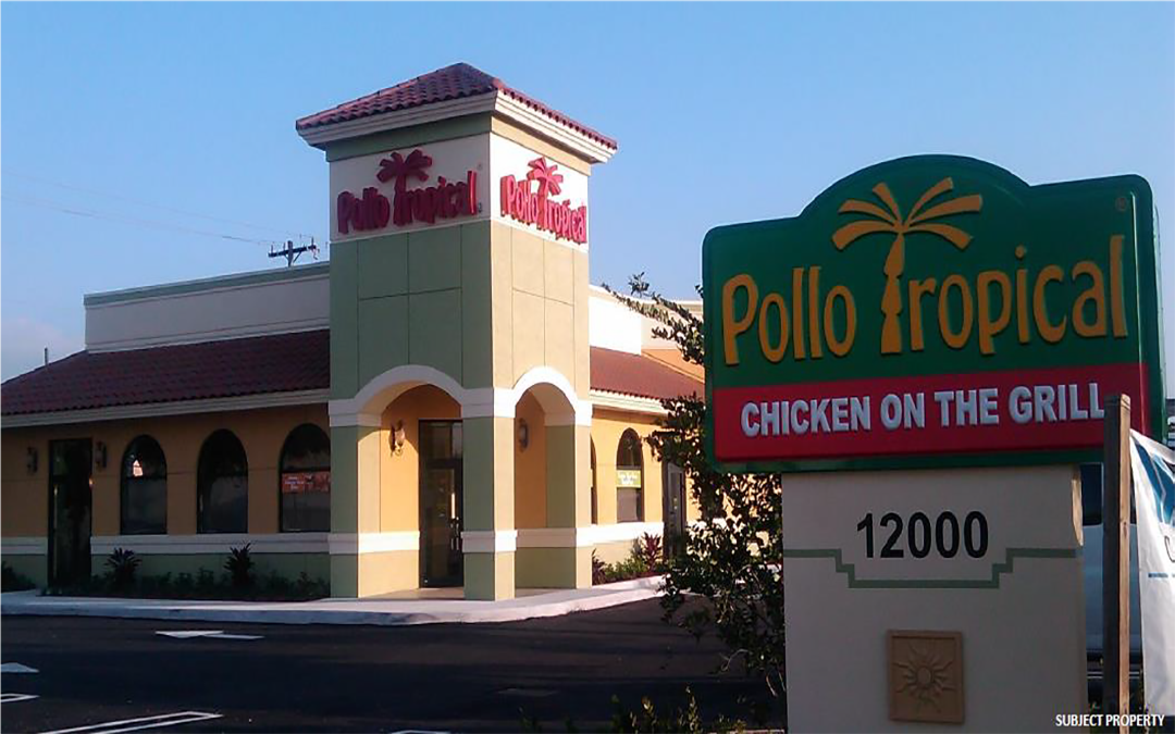 Pollo Tropical Triple Net (NNN) Commercial Property  Miami, Florida