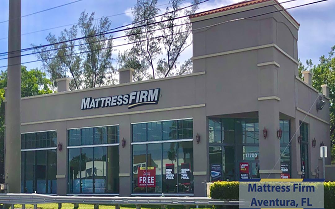 Mattress Firm (NNN) Commercial Property  Aventura, Florida